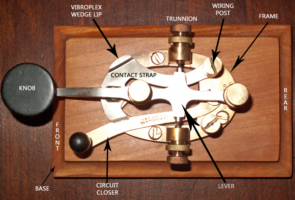 Kd2uj telegraphy parts of a key parts of a telegraph straight key asfbconference2016 Choice Image
